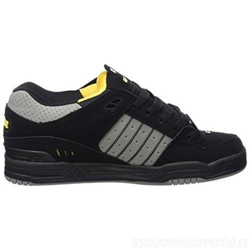 Zapatilla Globe Fusion I black/grey/yellow