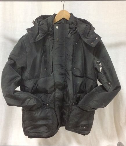 ORIGINALS BASIC BUBBLE JACKET KARL KANI NEGRO